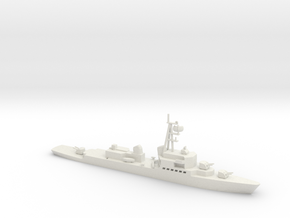 1/700 Scale Spanish Navy Destroyer Oquendo Class in White Natural Versatile Plastic