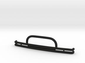 TWSDB002 Trx-4 Bronco front bumper in Black Natural Versatile Plastic