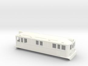 Swedish SJ electric locomotive type Od - H0-scale in White Processed Versatile Plastic