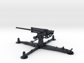 1/72 IJA Type 4 75mm Anti-aircraft Gun in Black PA12