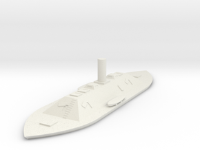 1/600 CSS North Carolina in White Natural Versatile Plastic