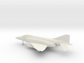 McDonnell Douglas F-4J Phantom II in White Natural Versatile Plastic: 1:160 - N