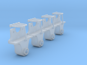 AB08 Rhosydd Wagon Axlebox SM32 in Smooth Fine Detail Plastic