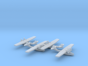 US PBY Catalina Flying Boat (x4) in Smooth Fine Detail Plastic