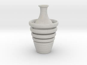 Vase 1359art in Natural Full Color Sandstone