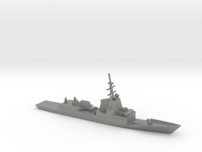 1/1250 Scale HMAS Hobart D-39 Class Destroyer in Gray PA12