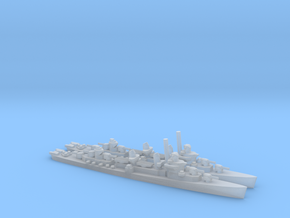 US Fletcher-class Destroyer (x2) in Smooth Fine Detail Plastic