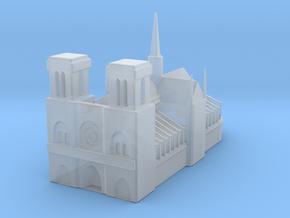 Notre Dame de Paris 1/1200 in Smooth Fine Detail Plastic