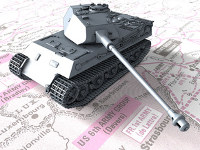 1/87 (HO) German VK 45.03 (H) Heavy Tank in Smooth Fine Detail Plastic