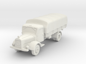 Mercedes L4500 A (covered) 1/32 in White Natural Versatile Plastic