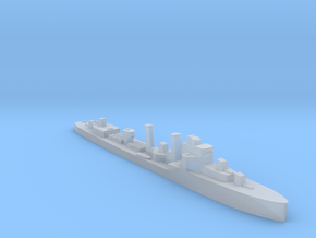 HMS Faulknor 1:2400 WW2 destroyer in Smoothest Fine Detail Plastic