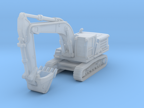Cat 336 Excavator in Smoothest Fine Detail Plastic: 1:200