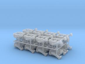 2x400W Floodlight - 1:50 - 16X in Smooth Fine Detail Plastic