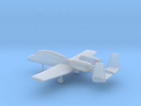 Fairchild Republic A-10B Thunderbolt II in Smooth Fine Detail Plastic: 6mm