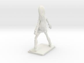 Fantasy Figures 03 - Monk in White Natural Versatile Plastic