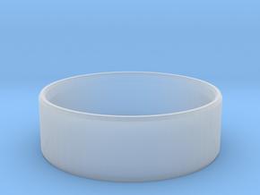 Simplistic Men's Ring  in Smooth Fine Detail Plastic: 10 / 61.5