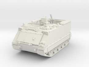 M125 A1 Mortar (open) 1/72 in White Natural Versatile Plastic