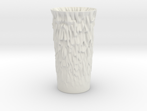 Random Vase in White Natural Versatile Plastic