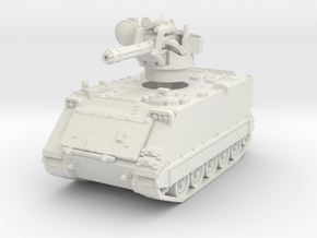 M163 A1 Vulcan (early) 1/56 in White Natural Versatile Plastic
