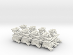 1x500W + 2x400W floodlight - 1:50 - 16X in White Natural Versatile Plastic