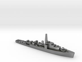 HMS Loch Shin 1:1800 WW2 frigate in Natural Silver