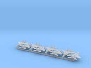 F-15A/C w/Gear x8 (FUD) in Smooth Fine Detail Plastic: 1:600