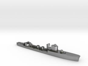 Italian Spica class WW2 torpedo boat 1:1800 in Natural Silver