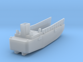 LCM3 Landing Craft Scale 1:200 No Ramp & Pivot Poi in Smooth Fine Detail Plastic