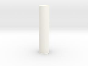 SinglePeg in White Processed Versatile Plastic