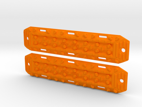 Ultimate Sandtracks by BoostOrDie (Double set) in Orange Processed Versatile Plastic: 1:10