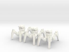 6mm spider tank in White Processed Versatile Plastic