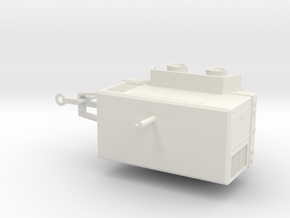 1/50th Ingersoll Rand Type Air Compressor Trailer in White Natural Versatile Plastic