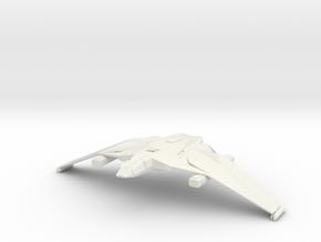 3788 Romulan Whitewind class in White Natural Versatile Plastic