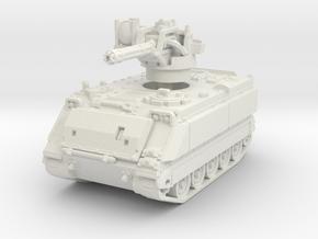 M163 A1 Vulcan (late) 1/76 in White Natural Versatile Plastic
