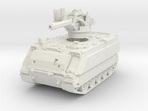 M163 A1 Vulcan (late) 1/120 in White Natural Versatile Plastic