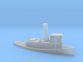 1/600 Scale 100-foot steel harbor tug Degolia in Smooth Fine Detail Plastic