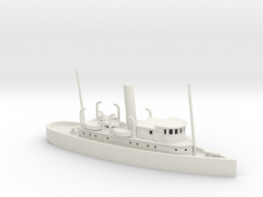 1/285 Scale 125-foot wooden ocean tug Artisan in White Natural Versatile Plastic