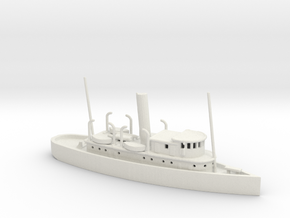 1/600 Scale 125-foot wooden ocean tug Artisan in White Natural Versatile Plastic