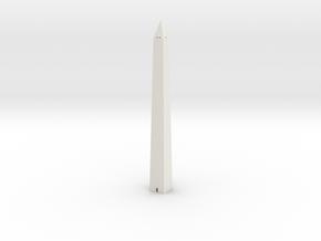 Washington Monument 1/1200 in White Natural Versatile Plastic