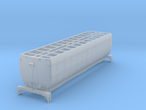 UP Auxiliary Water Car Body in Smooth Fine Detail Plastic