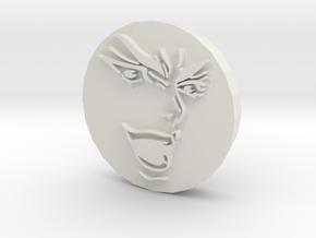 KONO DIO DA Stamp in White Natural Versatile Plastic