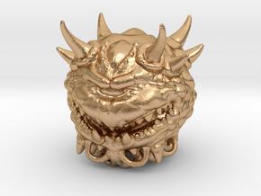 Doom Cacodemon Classic 1/60 miniature games rpg in Natural Bronze