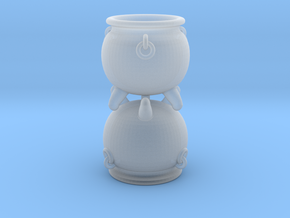 Cauldron miniature 28mm in Smooth Fine Detail Plastic