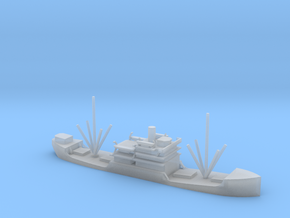 1/700 Scale 3000 DW ton Cargo Steamer Atlantus in Smooth Fine Detail Plastic