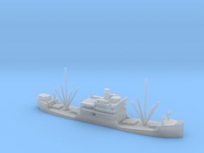 1/1800 Scale 3500 ton Cargo Steamer Quinneseco in Smooth Fine Detail Plastic