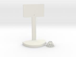 Printle Thing Baskethoop 02 - 1/24 in White Natural Versatile Plastic