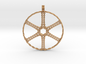 Wheel in Natural Bronze