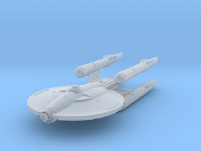 "Federation Gemini Class Cruiser 3.7"" in Smooth Fine Detail Plastic"