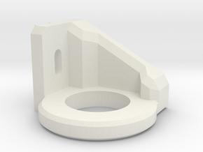 Creality Printhead - Induction sensor mount in White Natural Versatile Plastic