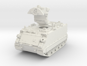 M901 A1 ITV early (deployed) 1/76 in White Natural Versatile Plastic